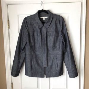 Nordstrom Collection chambray utility coat